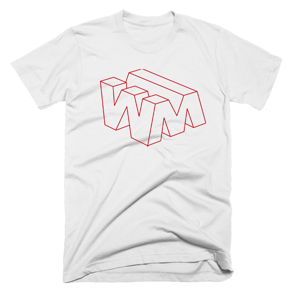 Buy Online Tom Aspaul - WM Logo Red T-Shirt