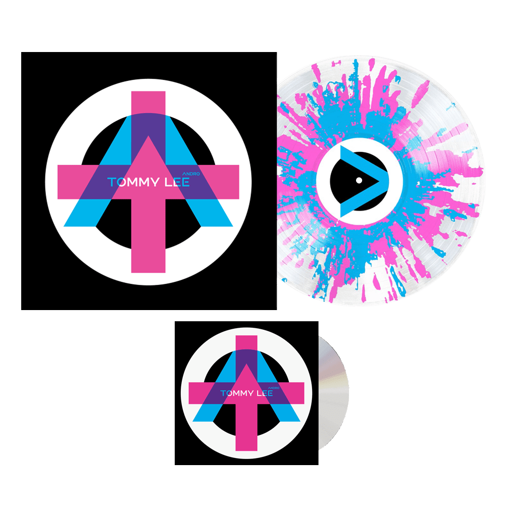 Buy Online Tommy Lee - Andro CD + Splatter Vinyl