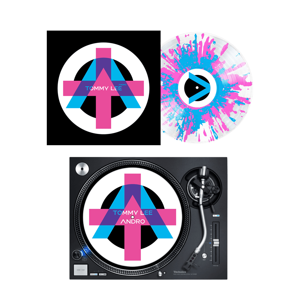 Buy Online Tommy Lee - Andro Splatter Vinyl + Slipmat + A4 Photo