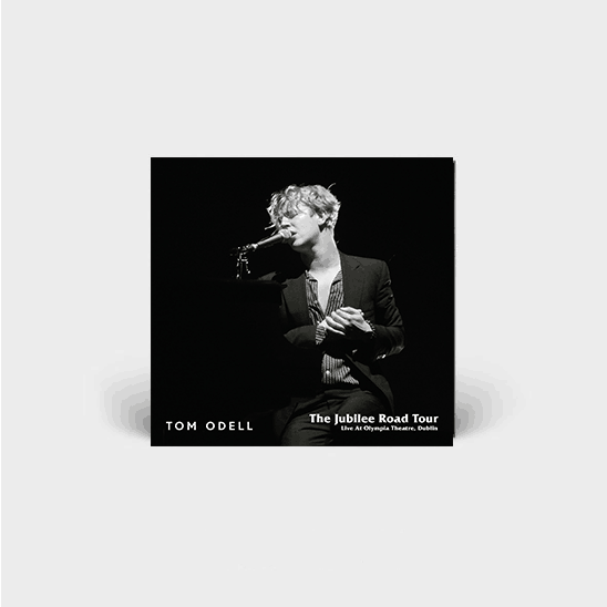 Buy Online Tom Odell - The JUBILEE ROAD TOUR - LIVE AT OLYMPIA THEATRE DUBLIN - DELUXE DOUBLE CD