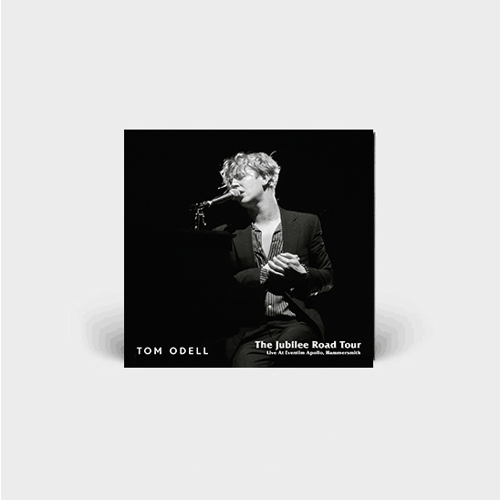 Buy Online Tom Odell - THE JUBILEE ROAD TOUR - LIVE AT EVENTIM HAMMERSMITH APOLLO - DELUXE DOUBLE CD