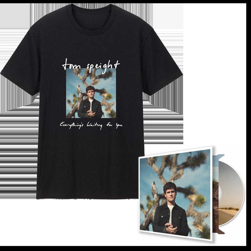 Buy Online Tom Speight - Deluxe CD & T-Shirt