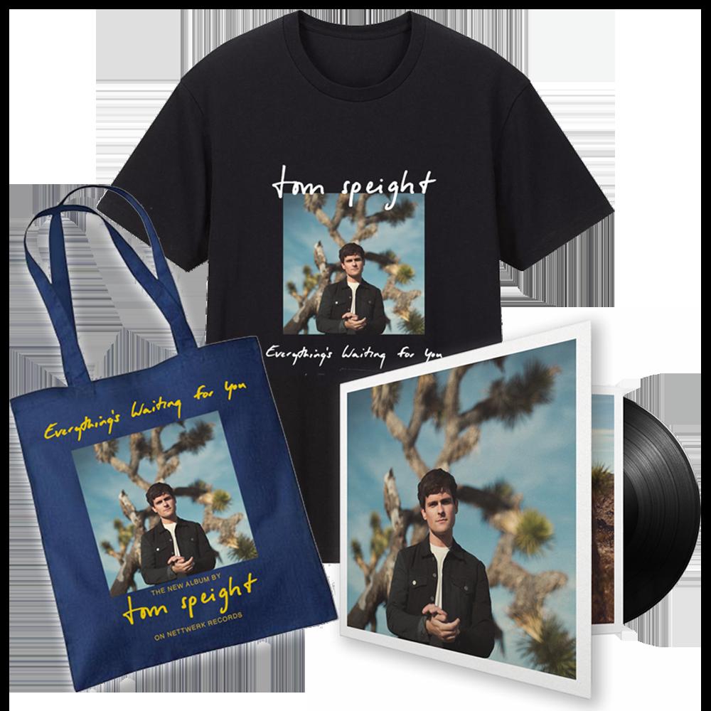 Deluxe Vinyl, T-Shirt & Tote Bag