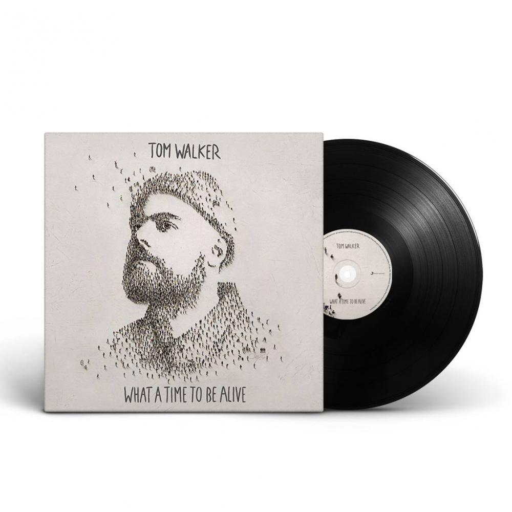 Buy Online Tom Walker - What A Time To Be Alive Vinyl LP (Signed)