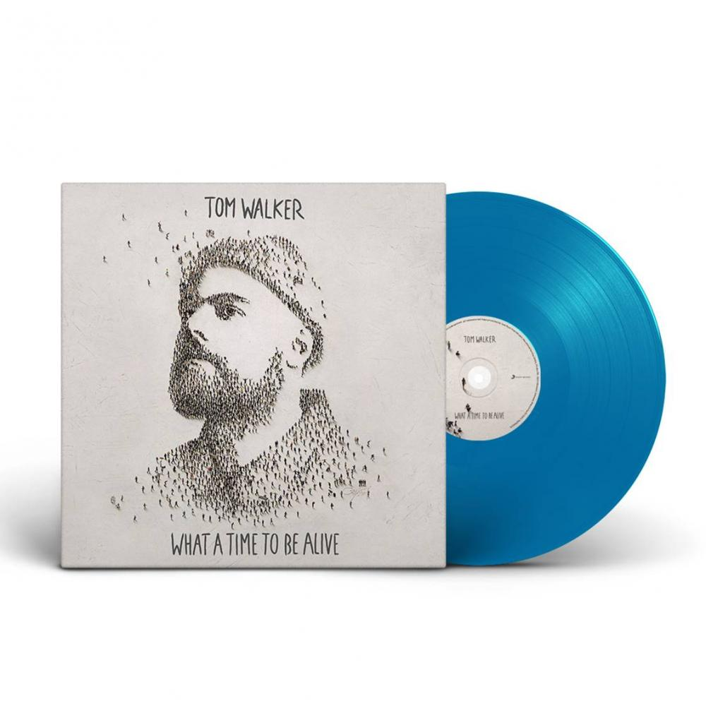 Buy Online Tom Walker - What A Time To Be Alive Blue (Signed)