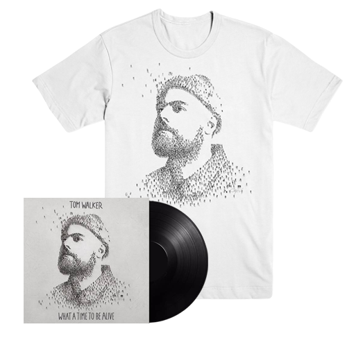 Buy Online Tom Walker - What A Time To Be Alive Vinyl LP (Signed) + T-Shirt