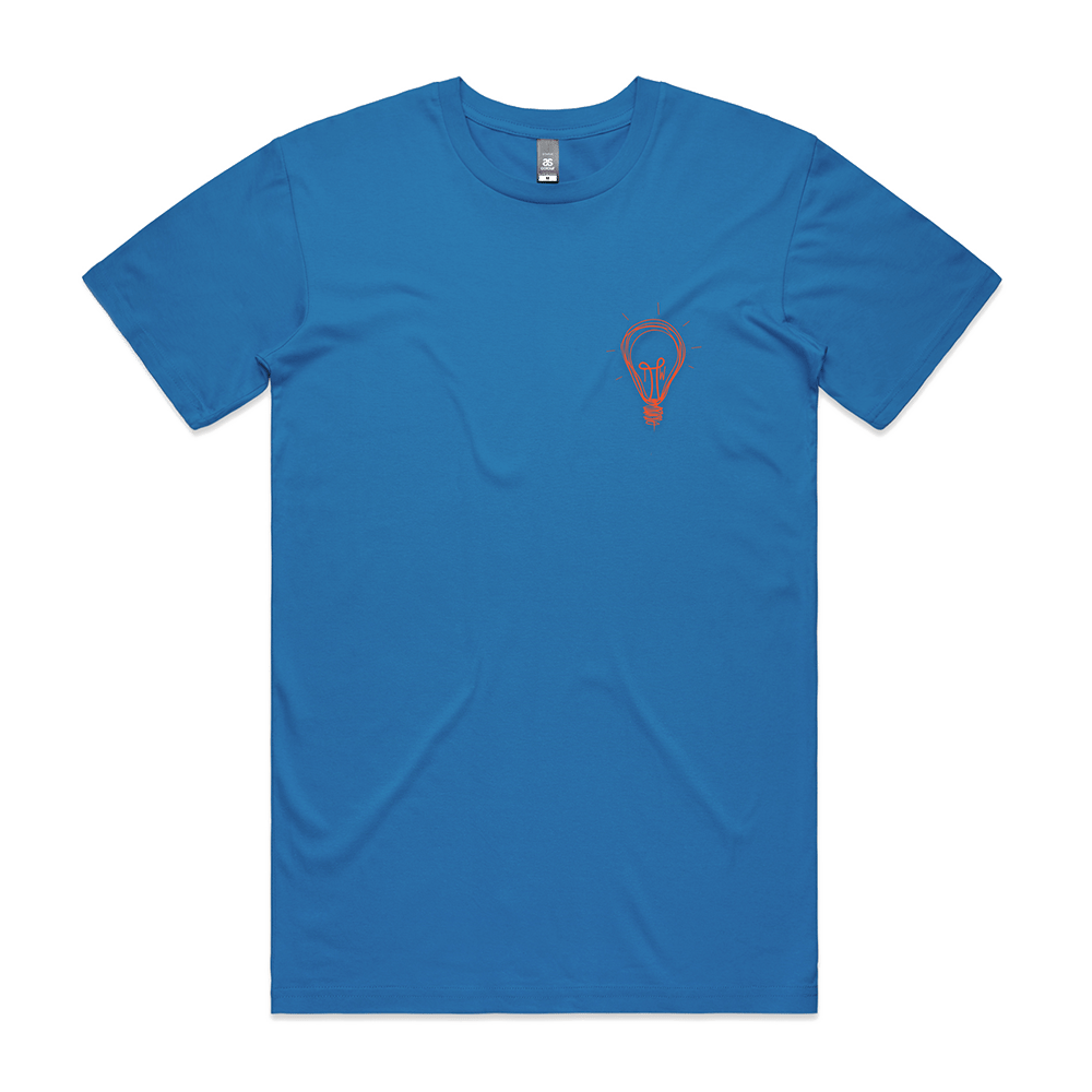 Buy Online Tom Walker - Lightbulb Blue T-Shirt