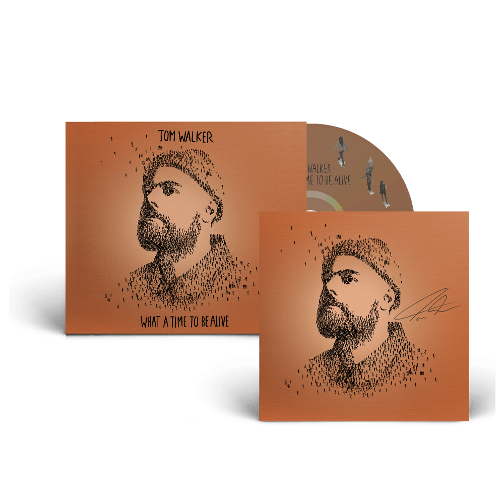 Buy Online Tom Walker - What A Time To Be Alive Deluxe (Signed Insert)