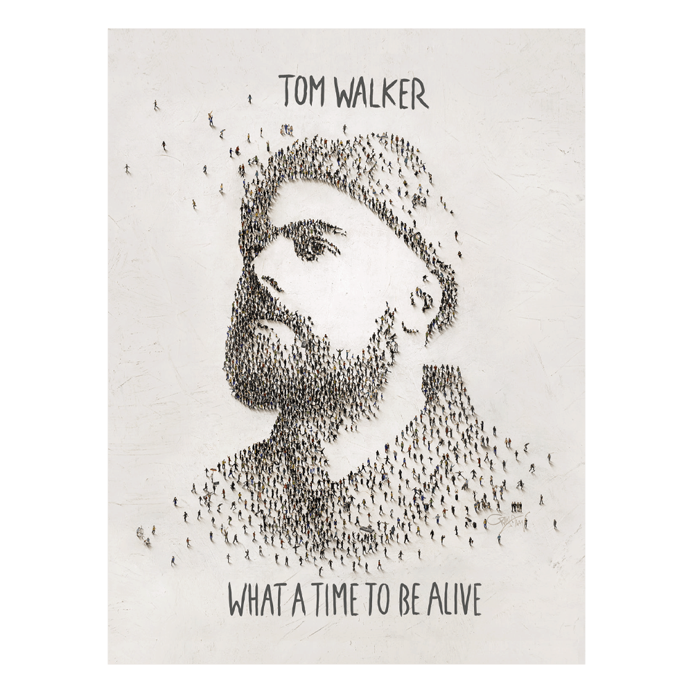 Buy Online Tom Walker - What a time to be alive A2 Poster