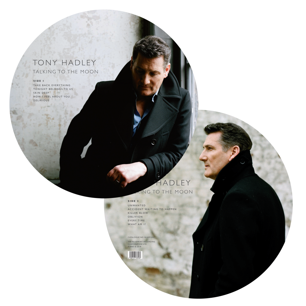 Buy Online Tony Hadley - Talking To The Moon Picture Disc Vinyl