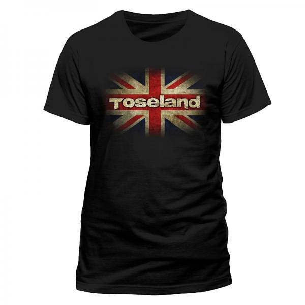 Buy Online Toseland - Union Jack 2014 Tour T-Shirt