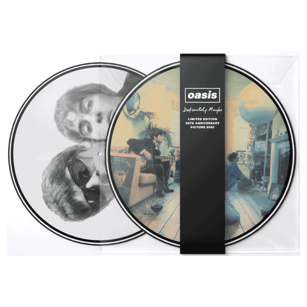 Buy Online Oasis - Definitely Maybe - 25th Anniversary Vinyl Picture Disc
