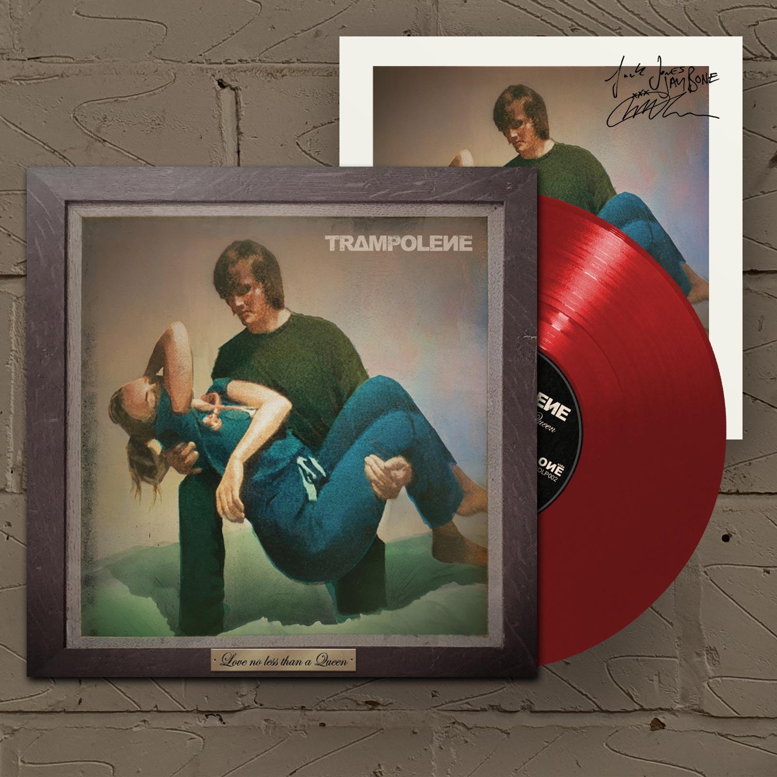 Love No Less Than A Queen Red LP