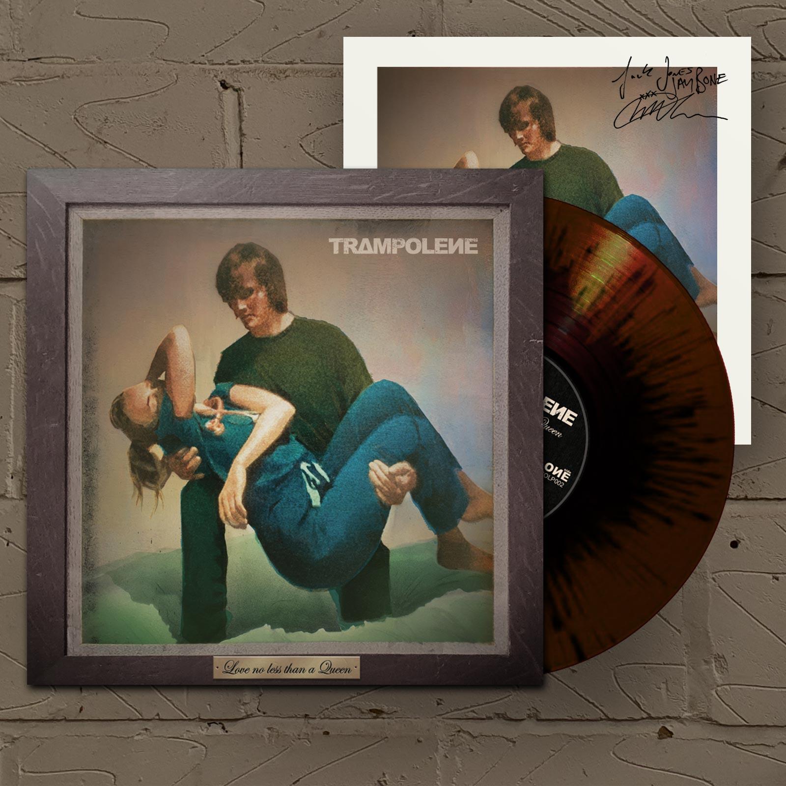 Love No Less Than A Queen Marble LP