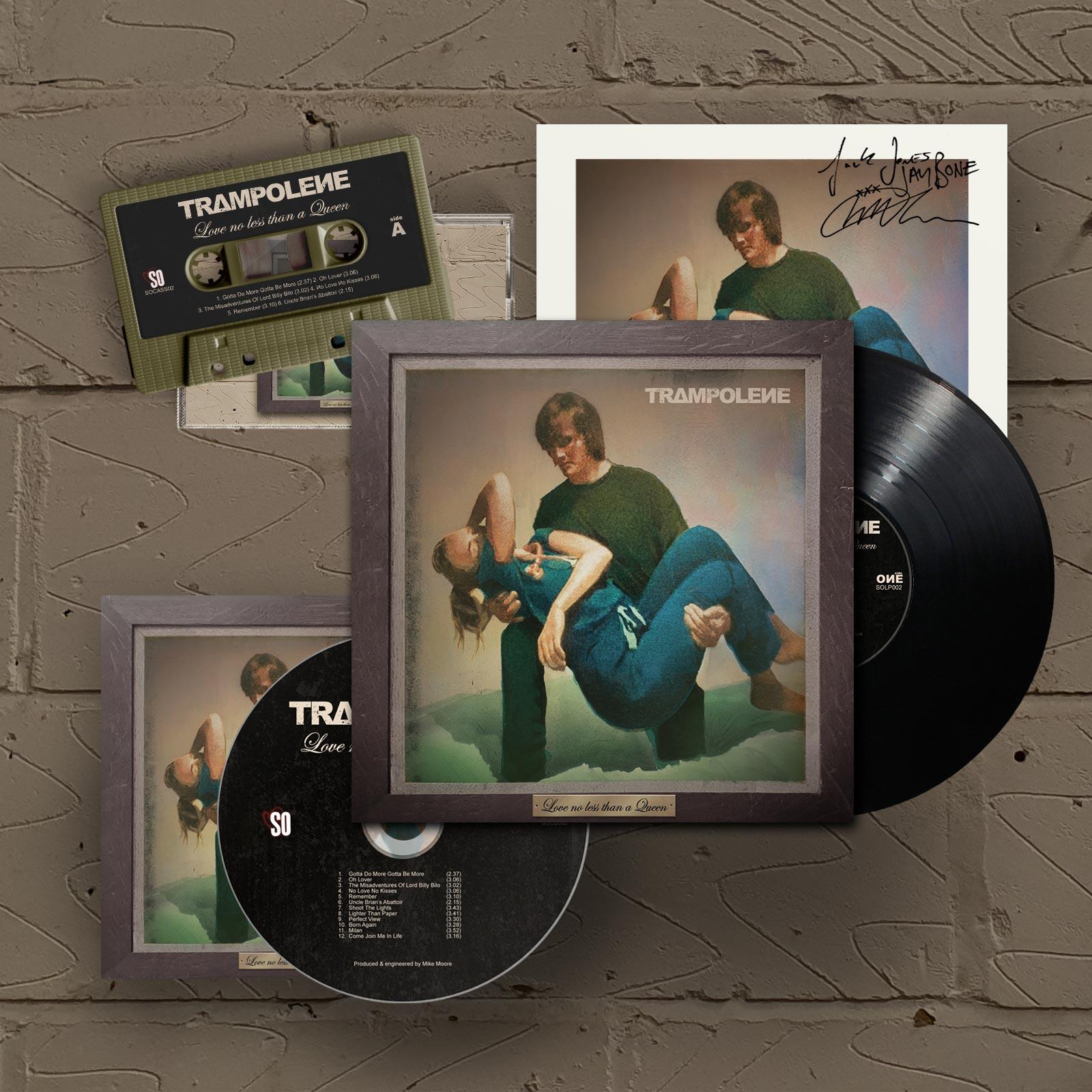 """Black LP & Signed CD & Cassette (Includes Signed 12"""" Print)"""