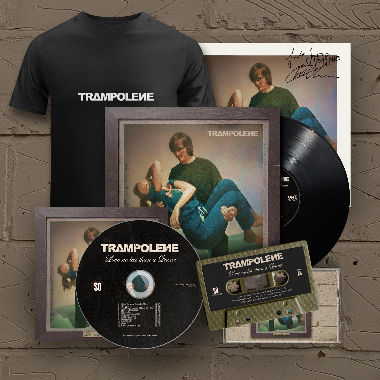 "Black LP & Signed CD & Cassette & T-Shirt (Includes Signed 12"" Print)"