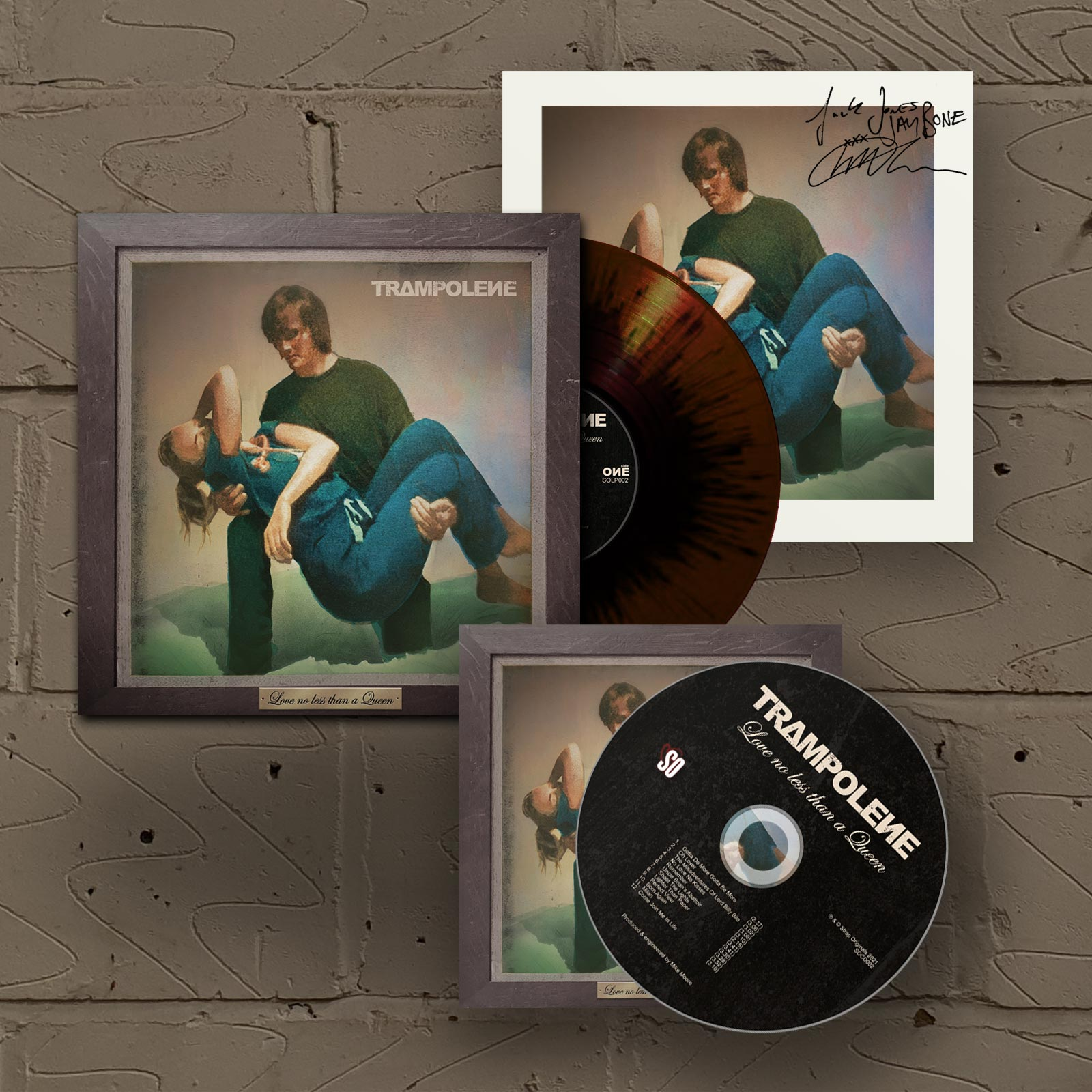 """Marble LP & Signed CD (Includes Signed 12"""" Print)"""
