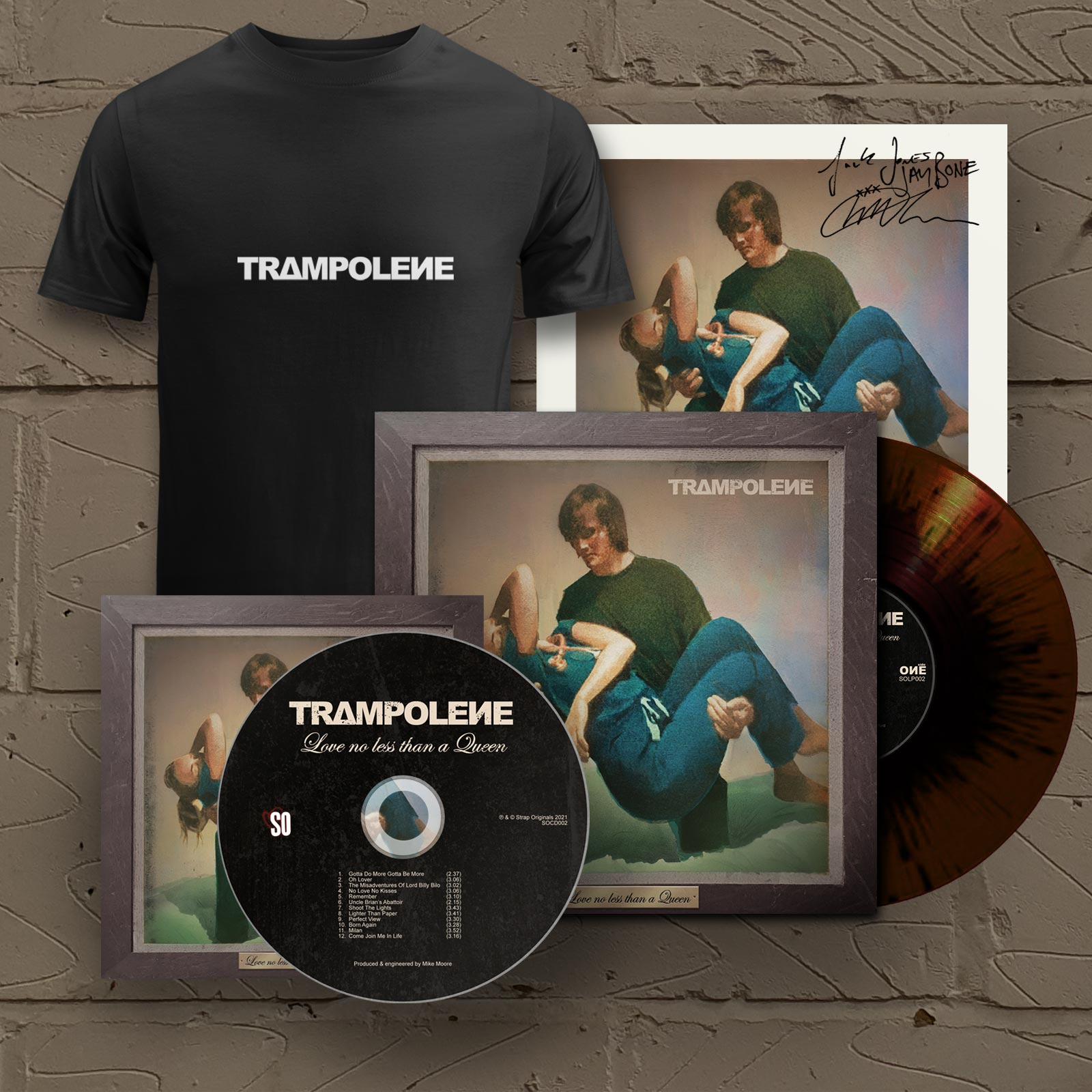 """Marble LP & Signed CD & T-Shirt (Includes Signed 12"""" Print)"""