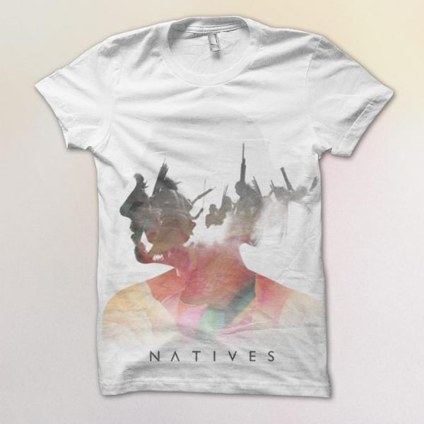 Buy Online Natives - Indoor War T-Shirt