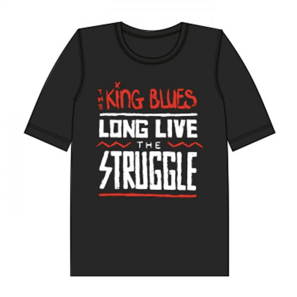 Buy Online The King Blues - Long Live The Struggle T-Shirt