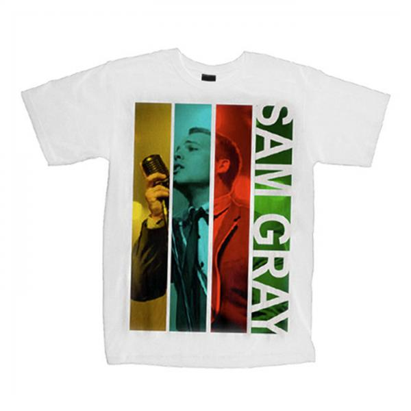 Buy Online Sam Gray - White T-Shirt