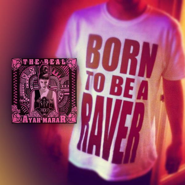 Buy Online Transmission Recordings - Ayah Marar The Real CD + The Raver T-Shirt