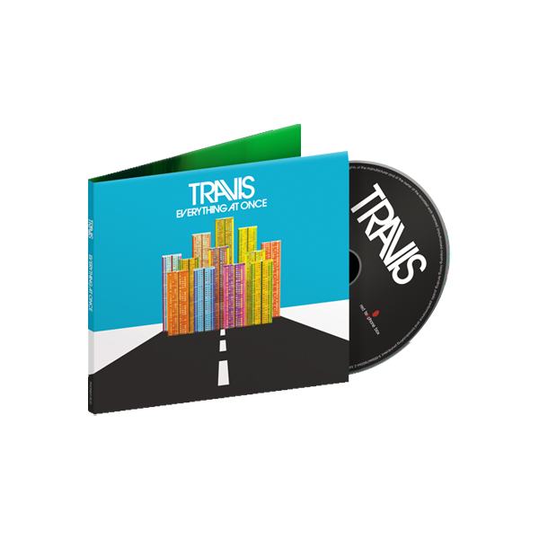 Buy Online Travis - Everything At Once <br />CD Album + Signed Lyric Sheet