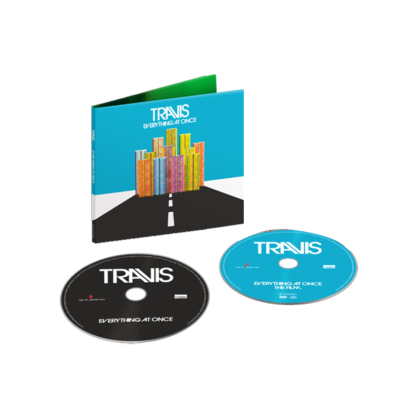 Buy Online Travis - Everything At Once <br />Deluxe CD/DVD Album + Signed Lyric Sheet