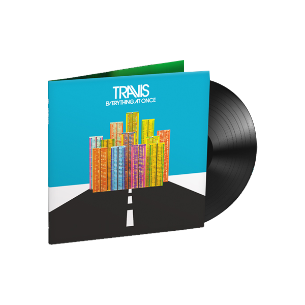 Buy Online Travis - Everything At Once <br /> LP + Signed Lyric Sheet
