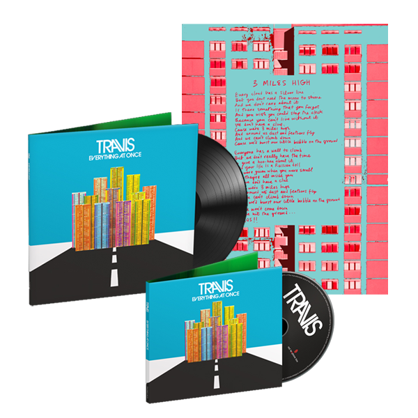 Buy Online Travis - Everything At Once <br />CD + LP + Signed Lyric Sheet