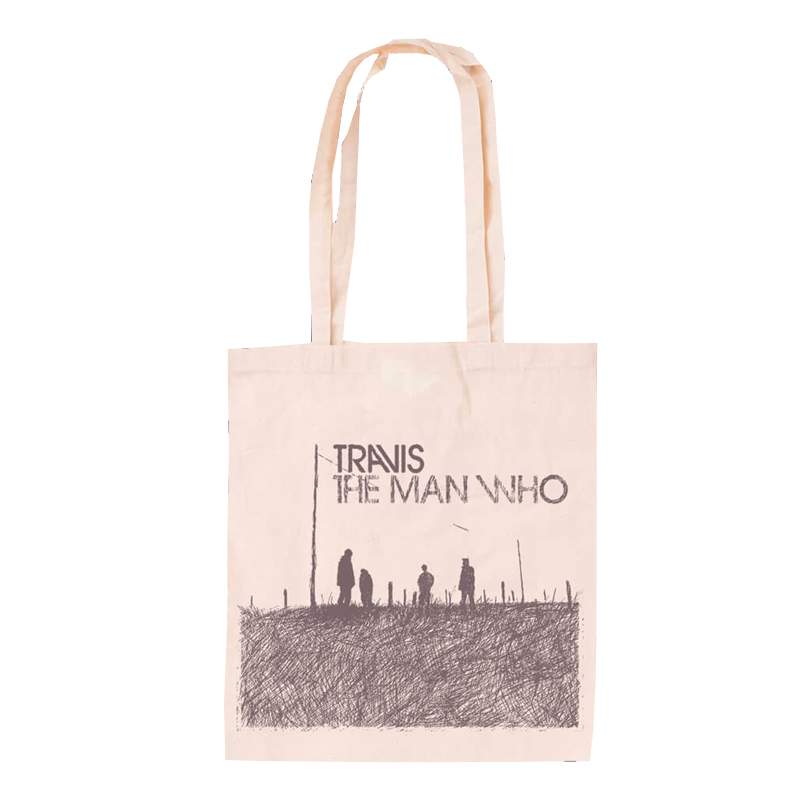 Buy Online Travis - The Man Who Tote Bag (Limited Stock)