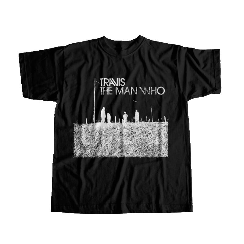 Buy Online Travis - Black Sketch T-Shirt (Limited Stock)