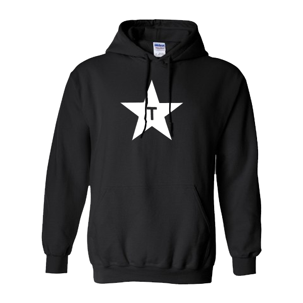 Buy Online Travis - Star Hoody (No Back Print)