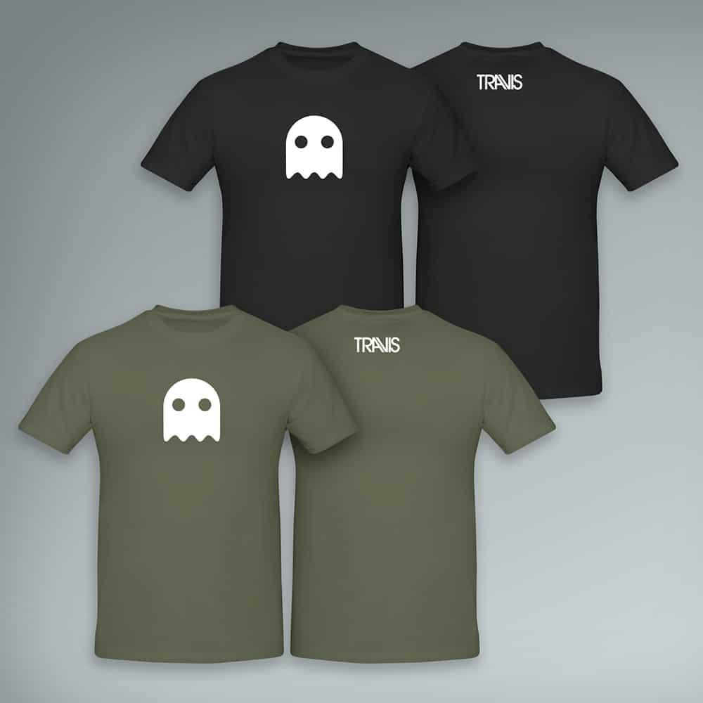 Buy Online Travis - A Ghost T-Shirt