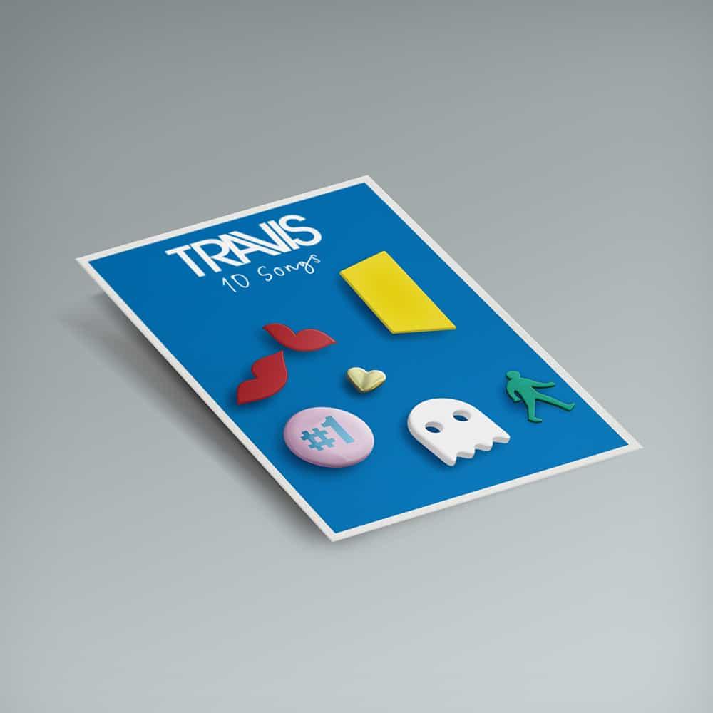 Buy Online Travis - Artwork Icon Badge Set