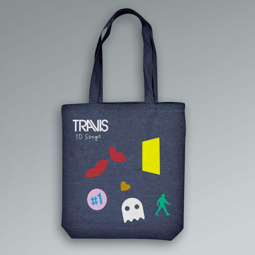 Buy Online Travis - Album Denim Tote Bag