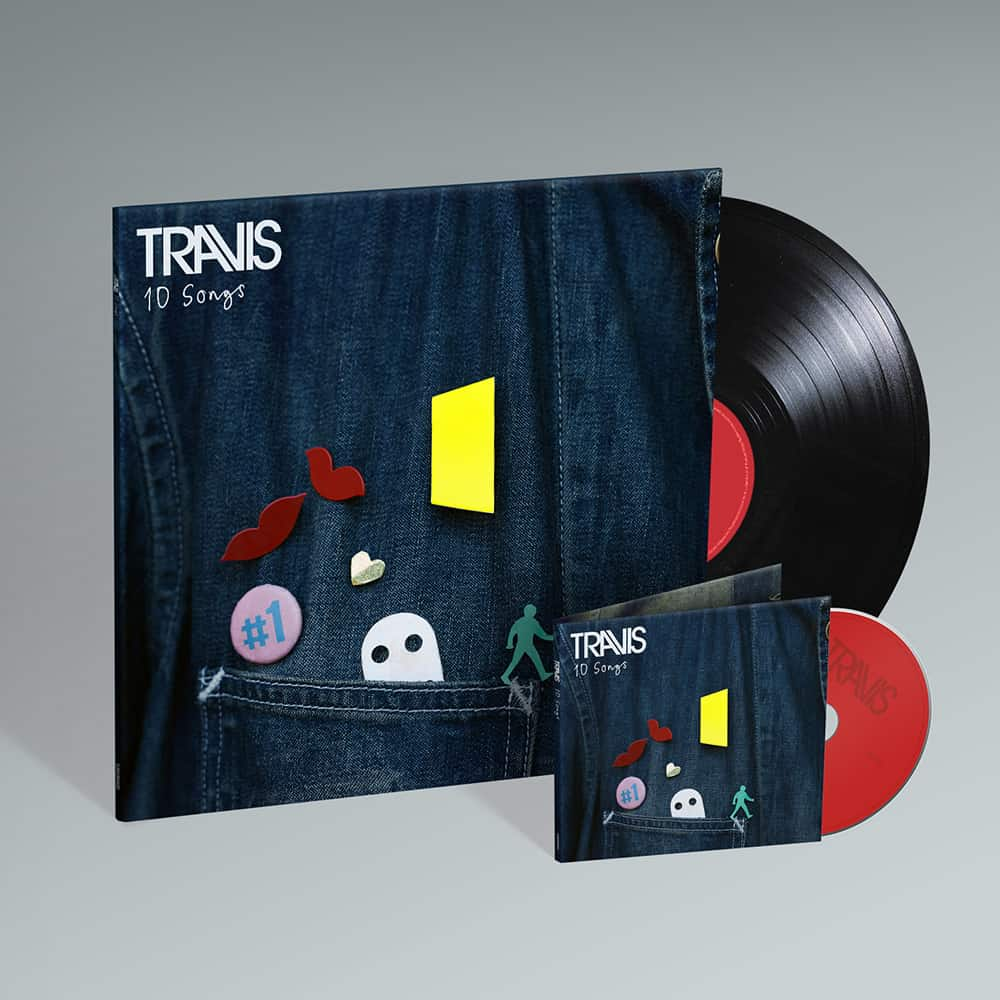 Buy Online Travis - 10 Songs CD + Vinyl
