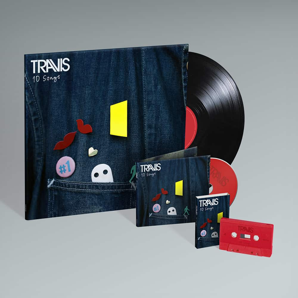 Buy Online Travis - 10 Songs CD + Vinyl + Cassette (Exclusive)