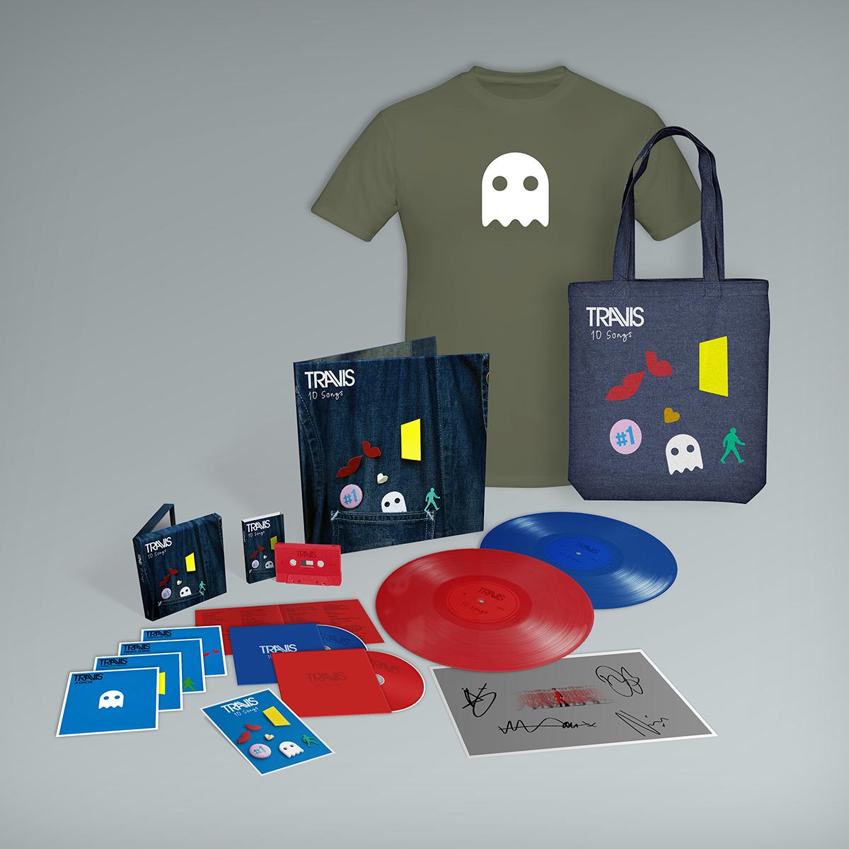 Buy Online Travis - 10 Songs Deluxe Album Bundle