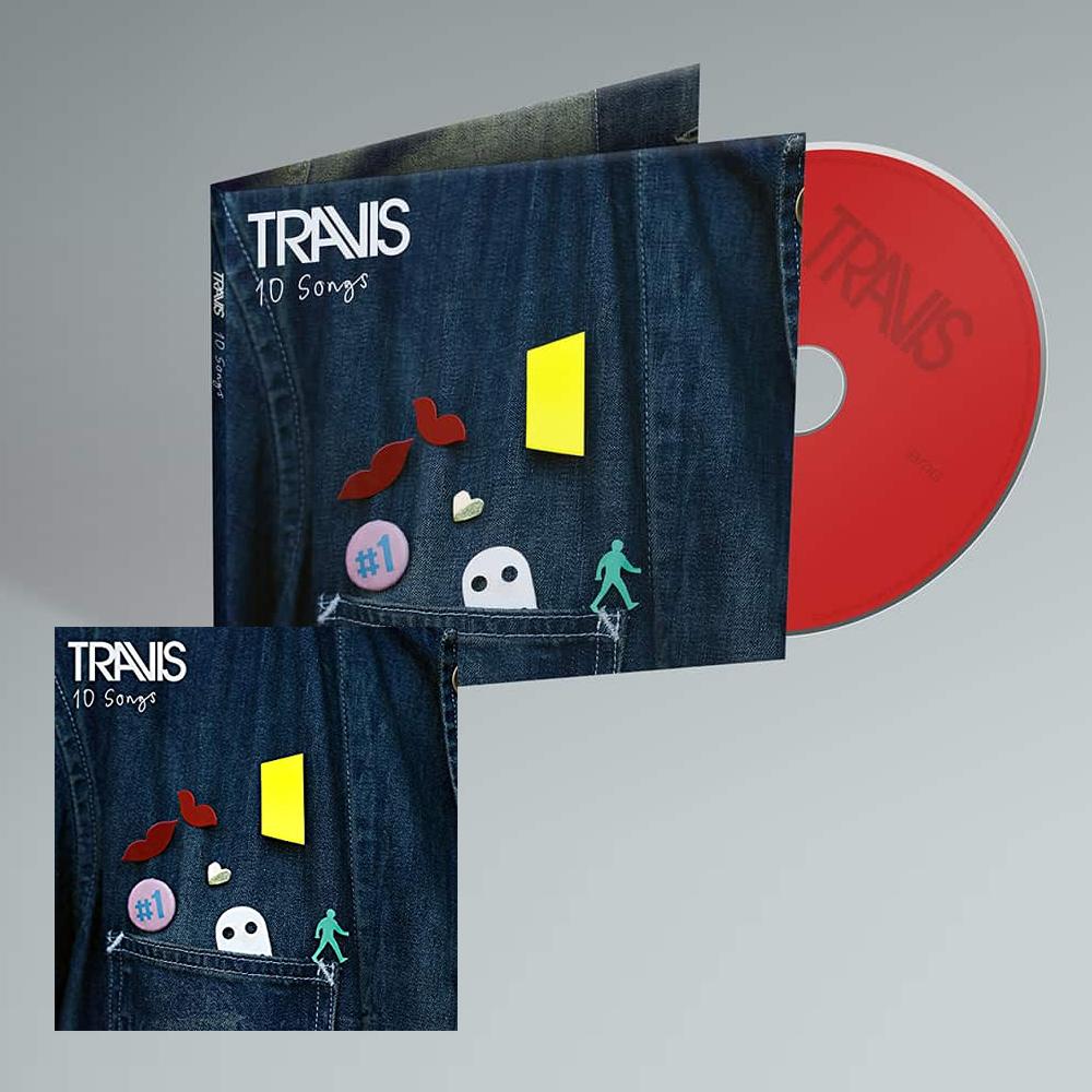 Buy Online Travis - 10 Songs Deluxe Digital Album (Inc. Album Demos) + CD
