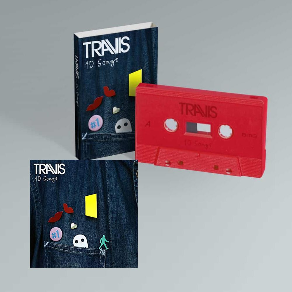 Buy Online Travis - 10 Songs Deluxe Digital Album (Inc. Album Demos) + Cassette (Exclusive)