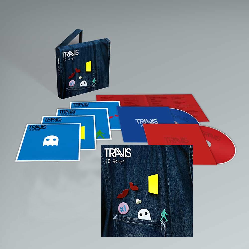 Buy Online Travis - 10 Songs Deluxe Digital Album (Inc. Album Demos) + Deluxe Double CD Album (Inc. Album Demos)