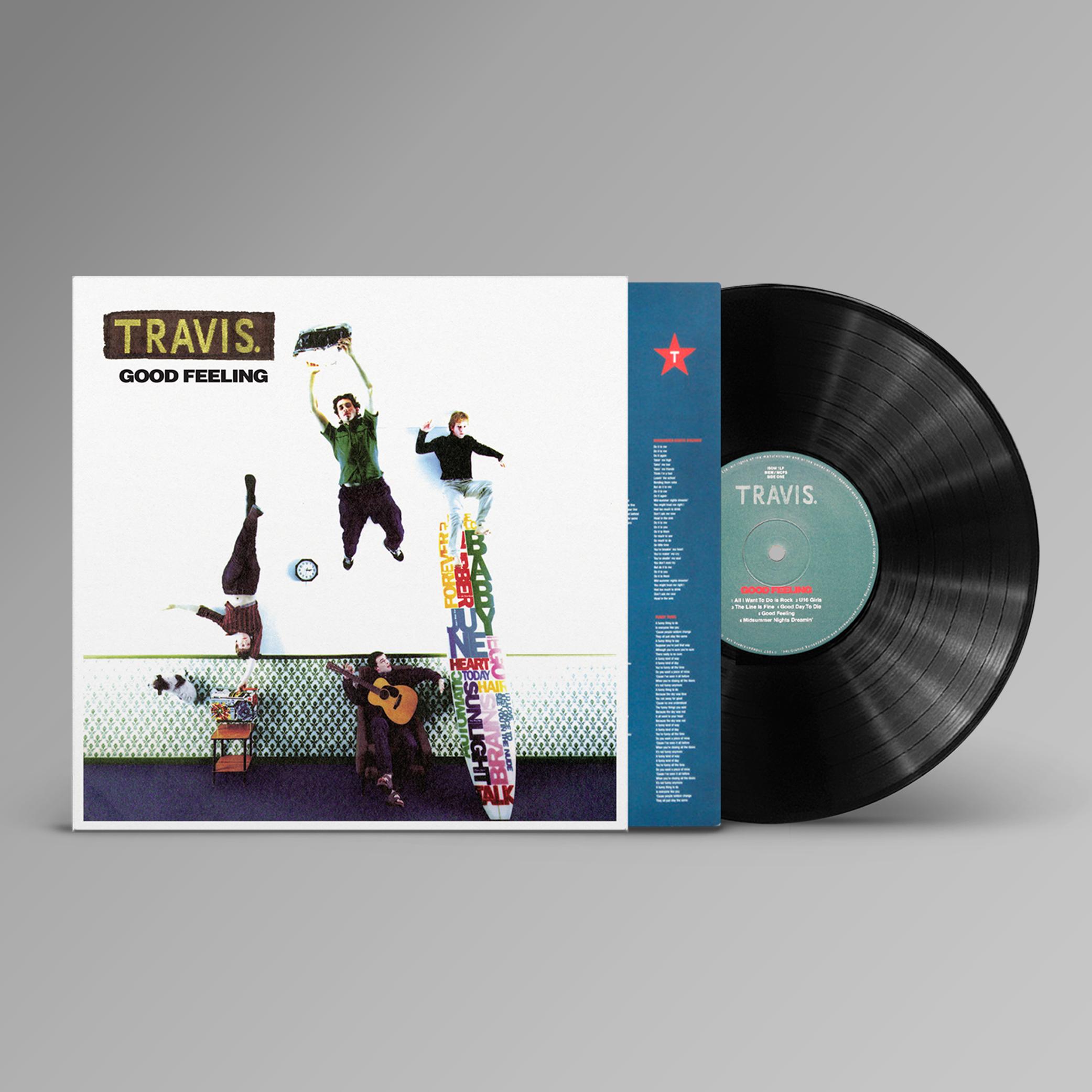 Buy Online Travis - Good Feeling (Reissue) Black Vinyl