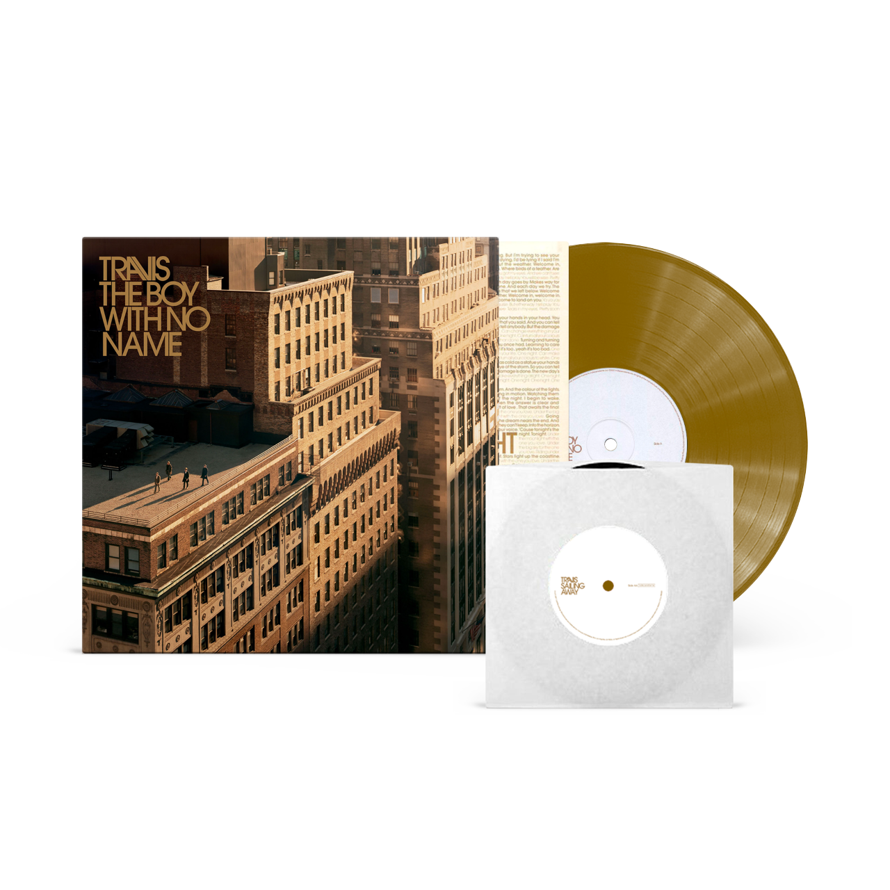 Buy Online Travis - The Boy With No Name Gold Vinyl + 7-Inch (Exclusive, Ltd Edition)