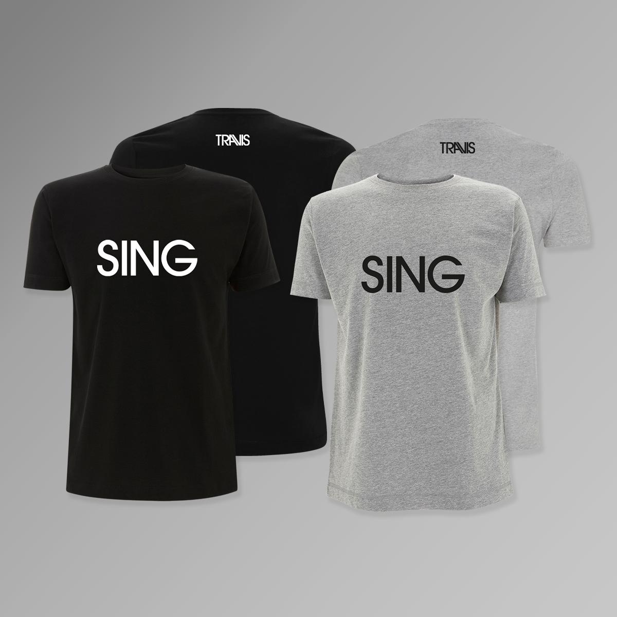 Buy Online Travis - Sing T-Shirt