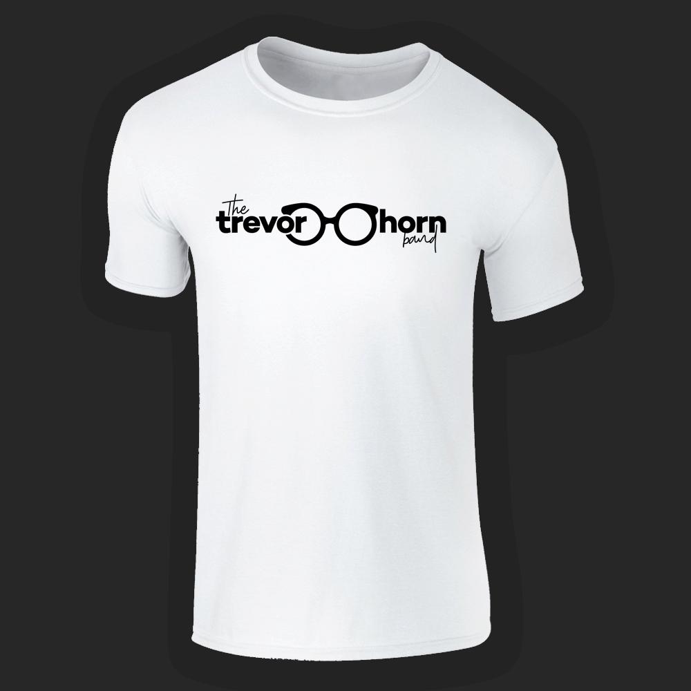 Buy Online Trevor Horn - Trevor Horn Band Logo T-Shirt (White)