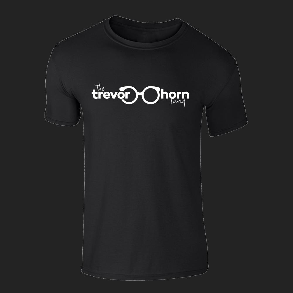 Buy Online Trevor Horn - Trevor Horn Band Logo T-Shirt (Black)