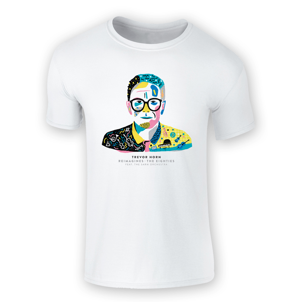 Buy Online Trevor Horn - Album Cover T-Shirt (White)