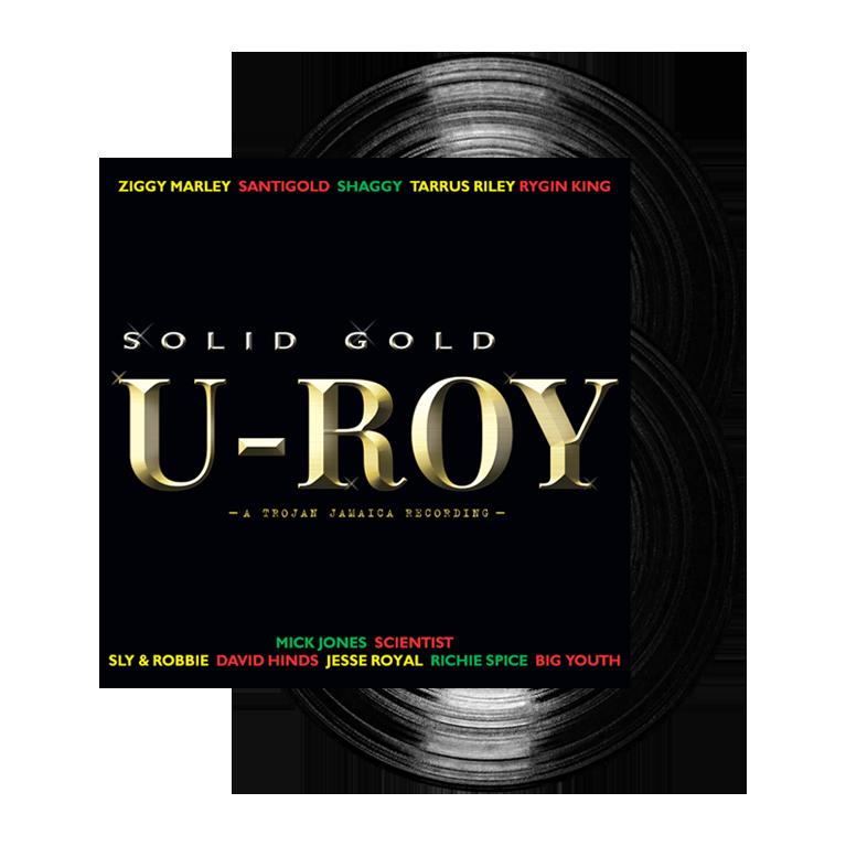 Buy Online U-Roy - Solid Gold Double Vinyl