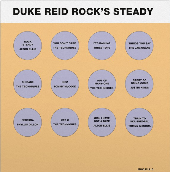 Buy Online Various Artists - Duke Reid Rock's Steady (Limited Coloured Vinyl)